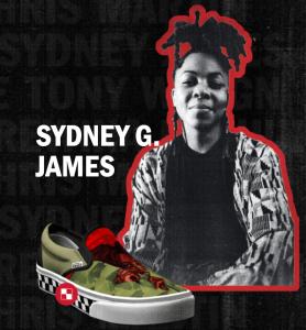 sydney g james for vans black history month