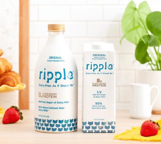 Ripple Non-Dairy Milk, Original, Best Milk Alternatives for Your Coffee