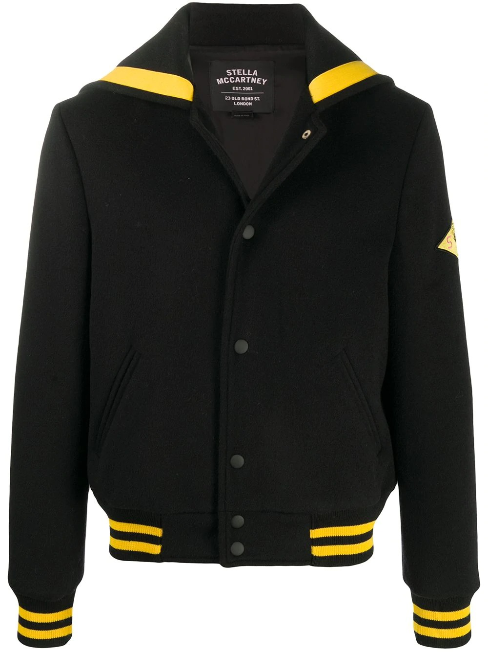 Stella McCartney Graphic Patch Jacket , best sustainable clothing