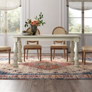 sylvan extendable dining table, expandable dining tables