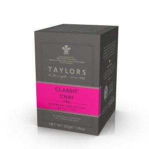 Taylors of Harrogate chai tea, coffee alternatives
