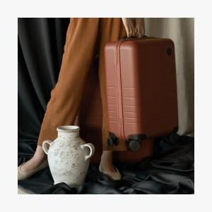 Monos medium check-in suitcase, best luggage brands