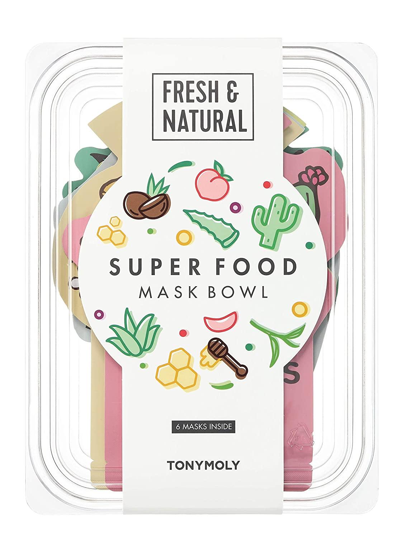 Tony Moly Super Food Face Mask Bowl Set
