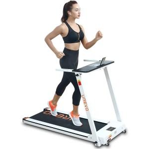 UREVO folding compact treadmill, best cheap treadmills