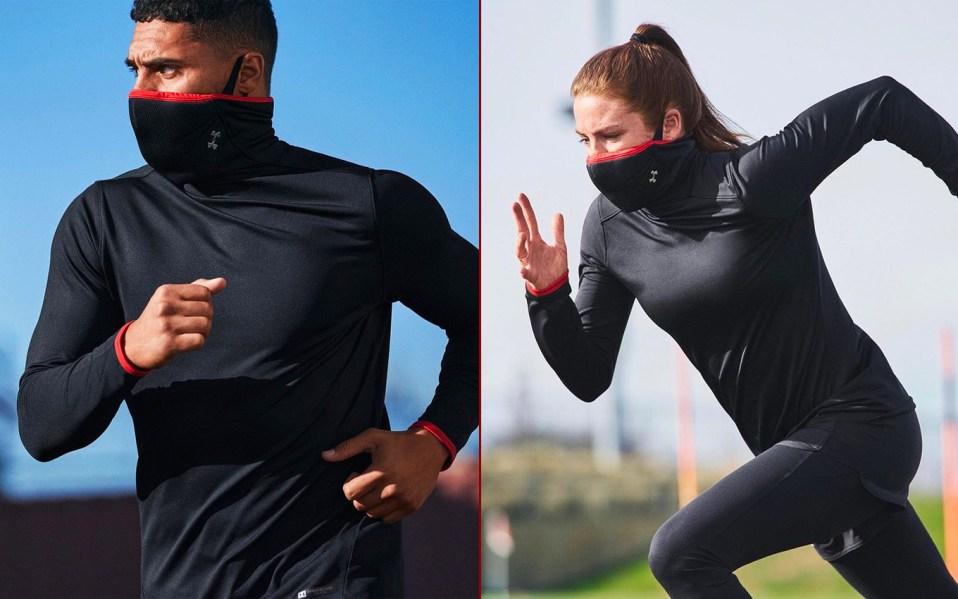 Under armour Sportsmask Mock Long Sleeve
