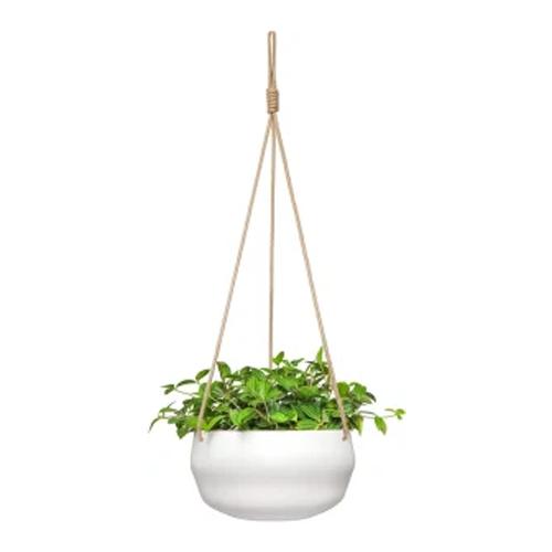 mkono hanging ceramic plant pot