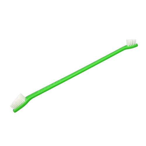 Vetroquinol Enzadent Dual Toothbrush for Dogs and Cats