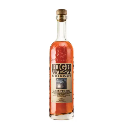 bottle of high west whiskey