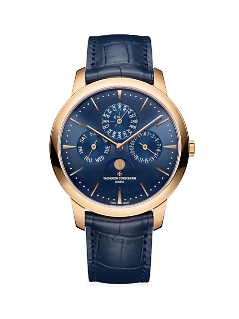 Vacheron-Constantin-Patrimony-18K-5N-Rose-Gold-Alligator-Strap-Perpetual-Calendar-Ultra-Thin-Watch