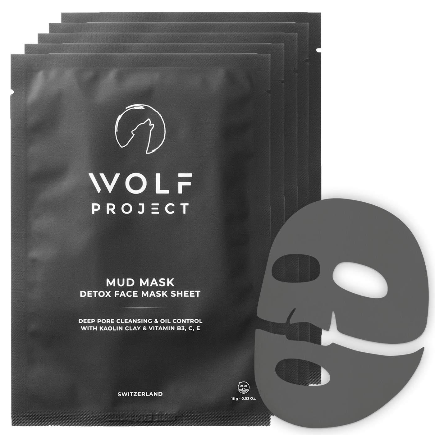 Wolkf Project Men's Mud Sheet Mask