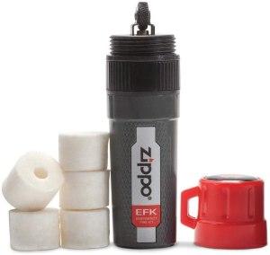 best fire starter zippo emergency fire kit