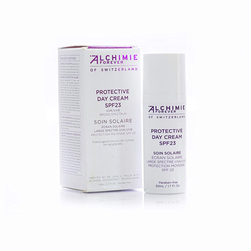 Alchimie Forever Protective Day Cream SPF 23, best all natural sunscreen