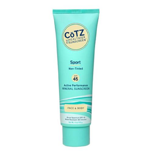 CōTZ Sport, SPF 45 natural sunscreen