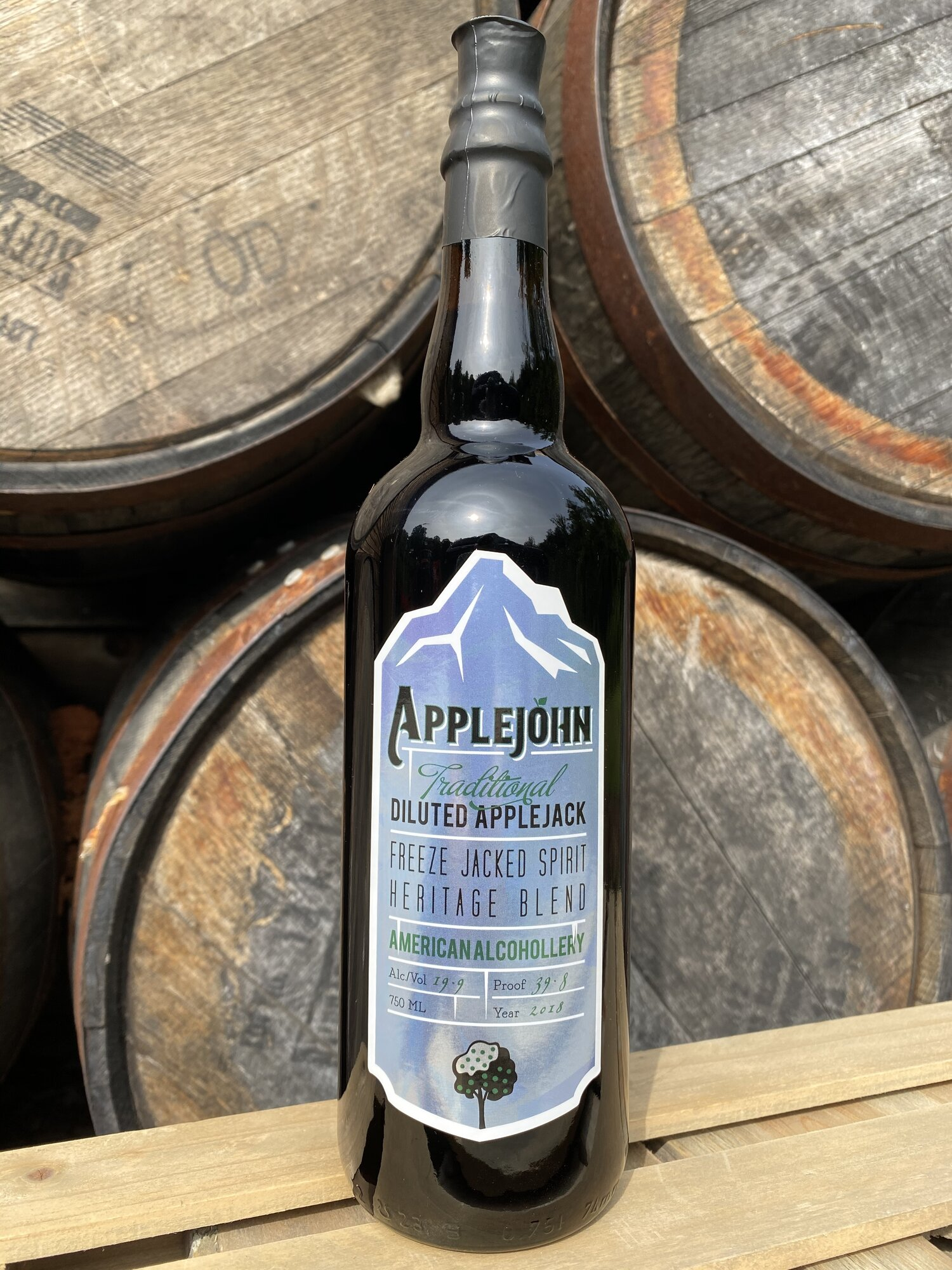 applejohn applejack from holman distillery
