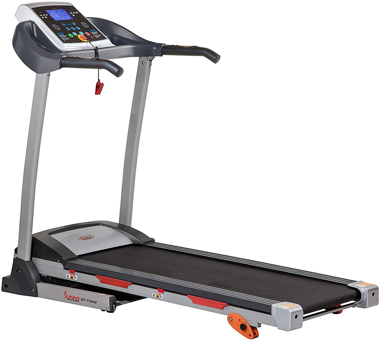 sunny health and fitness treadmills
