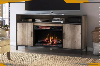 best tv stand with fireplaces