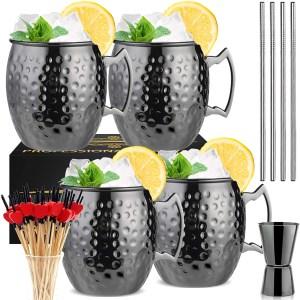 LINALL Moscow Mule Mugs