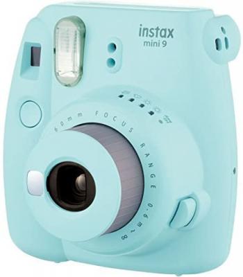 teal fujifilm camera