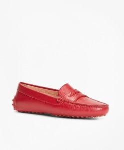 Brooks Brothers Leather driving moccasins, driving shoes