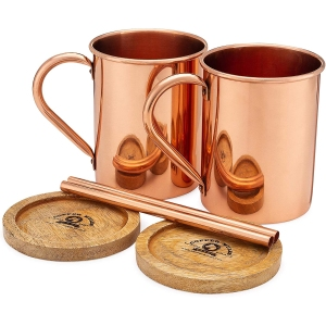 Moscow Mule PURE Copper Mugs