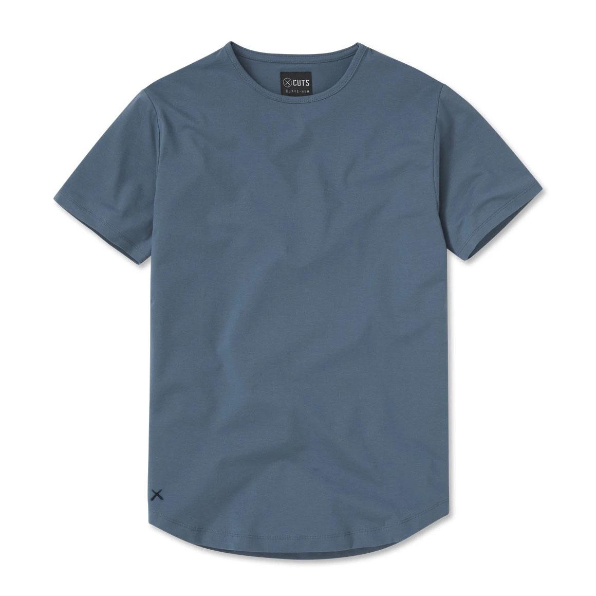 Cuts Clothing Crew Curve-Hem