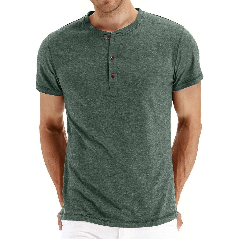 NITAGUT Henley T-Shirt