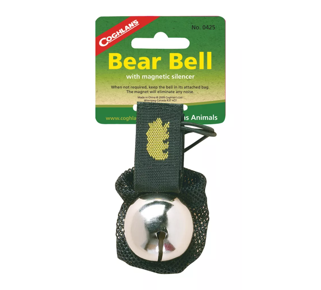 Coghlans Bear Bell with Magnetic Silencer