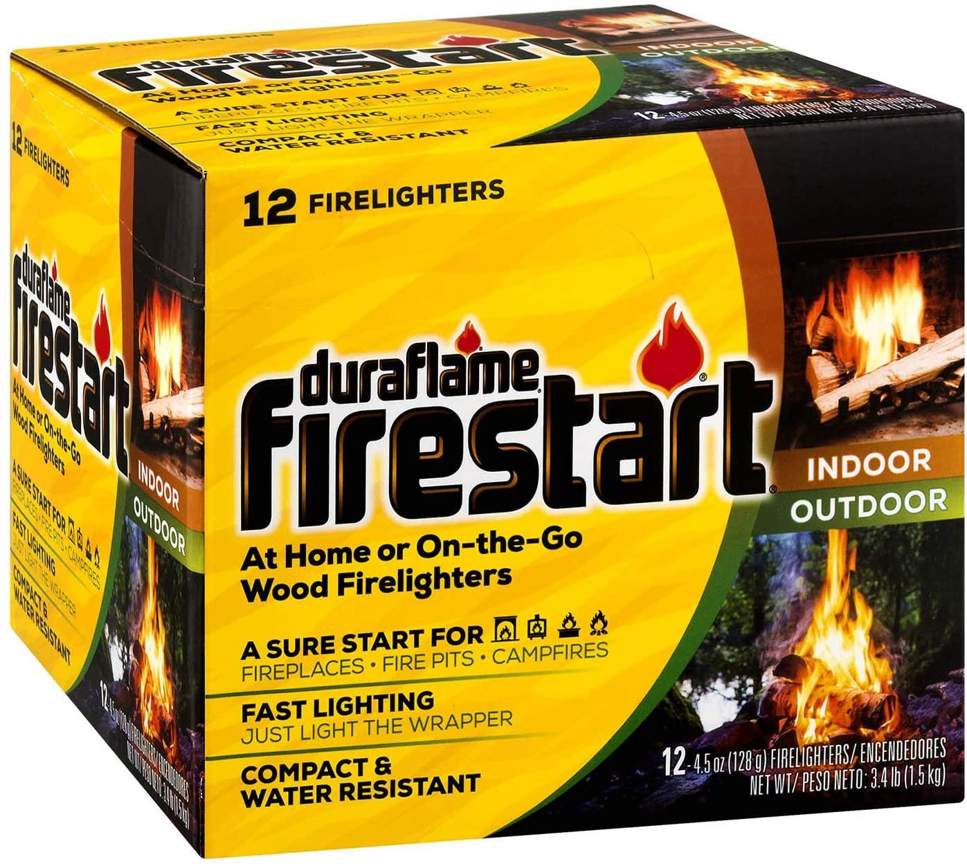 duraflame firestart sticks, best fire starters