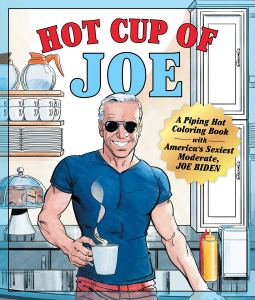 hot cup of joe coloring book, funny coloring books