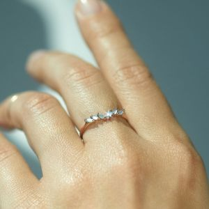 Catbird jasmine ring mother of pearl, engagement rings under 1000