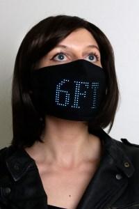Lumen LED matrix face mask, future of face masks