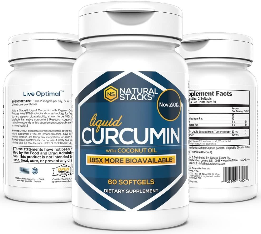 liquid stacks turmeric supplements