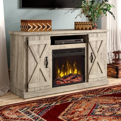 lorraine tv stand with fireplace