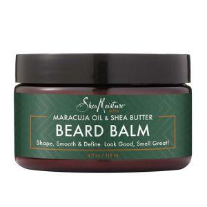 shea moisture beard balm, men's natural grooming products