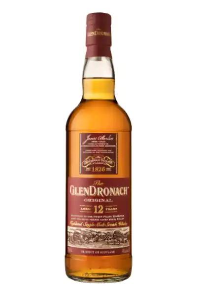 GlenDronach Single Malt Scotch Whisky Original Aged 12 Years