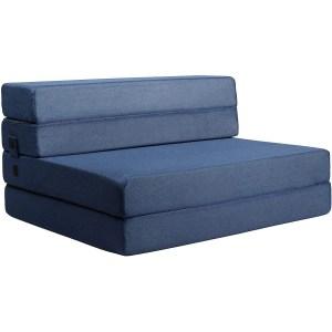 milliard tri-fold folding mattress, nugget alternatives, nugget furniture