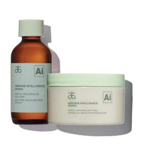 Arbonne Genius Nightly Resurfacing Pads & Solution, Best Retinol Creams and Serums