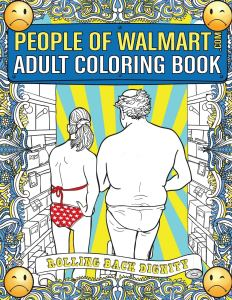 people of walmart coloring book, funny coloring book
