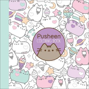 pusheen coloring book, funny coloring books