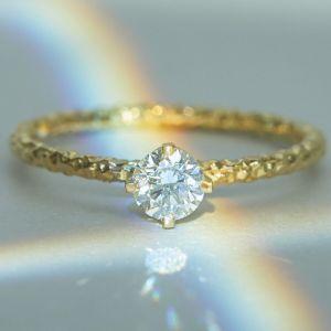 Catbird homespun solitaire ring, engagement rings under 1000