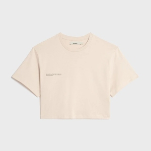 Pangaia Organic Cotton Cropped T-Shirt