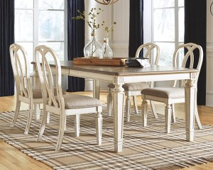 Signature Design expandable dining table