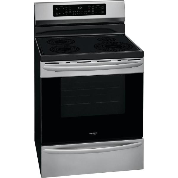 Frigidaire Gallery 30-Inch Slide-In Induction Range - Best Induction Ranges
