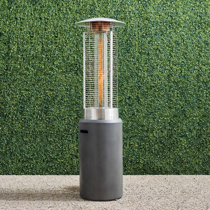 sundry patio heater from frontgate, best outdoor patio heaters