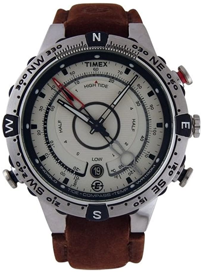 timex tide watch with compass