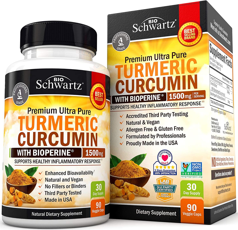 best turmeric supplements - BioSchwartz Turmeric Curcumin Supplements