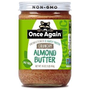 Once Again Organic Almond Butter