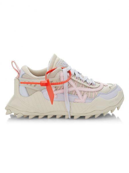 off-white 1000 beige sneaker