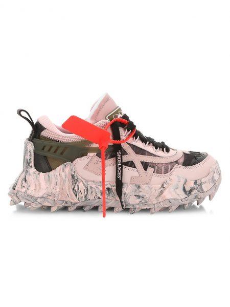 off-white 1000 pink black sneaker