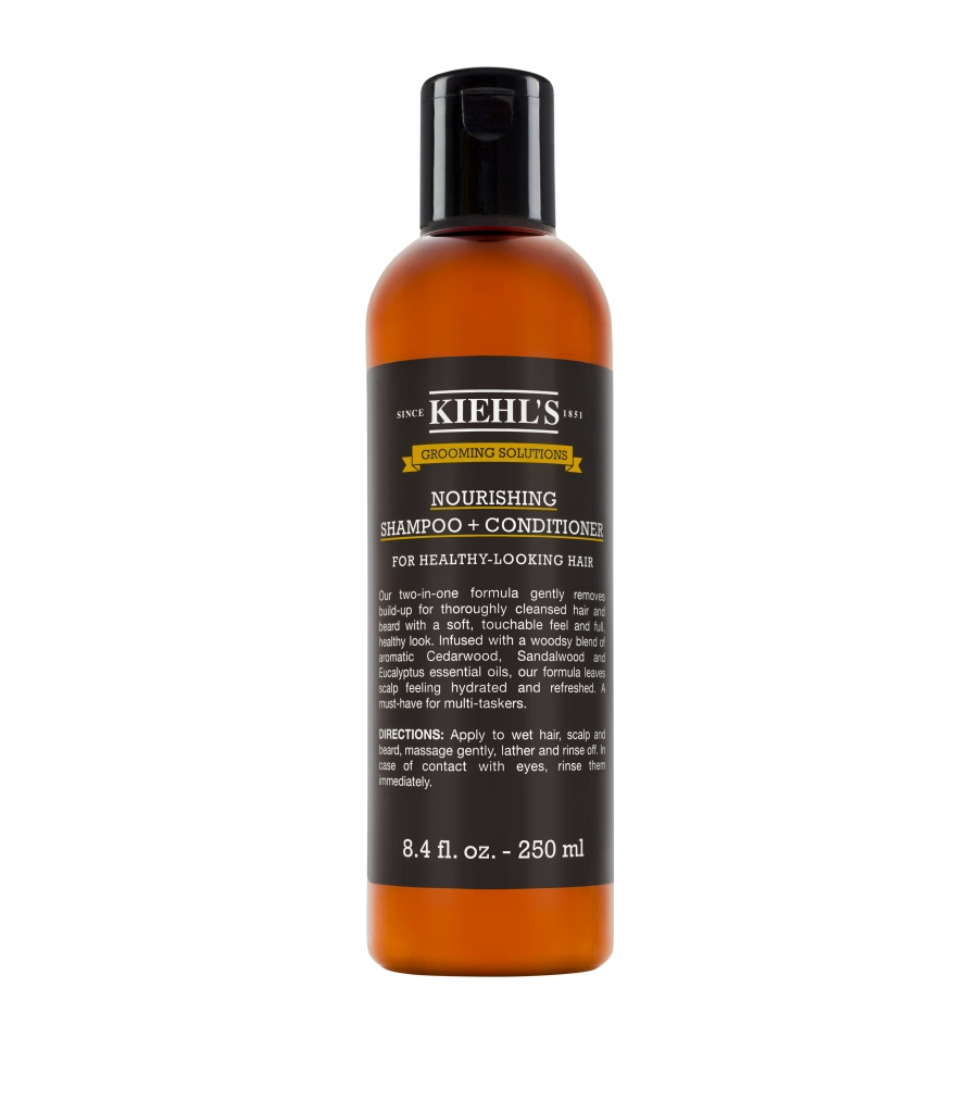 Kiehl's Grooming Solutions Nourishing Shampoo+Conditioner, Best Natural Shampoos